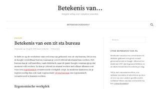 betekenis-van.nl