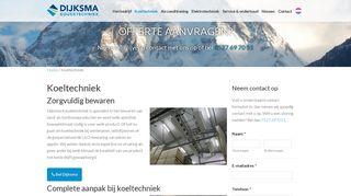 dijksma.nl/koeltechniek/