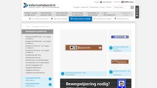 informatiebord.nl/productgroep/21/bewegwijzeri