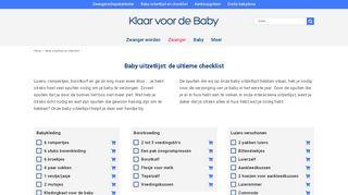 klaarvoordebaby.nl/baby-uitzetlijst/
