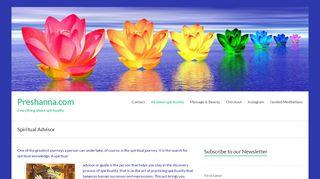 preshanna.com/spiritual-advisor/