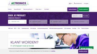 www.actronics.nl