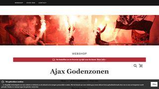 www.ajaxgodenzonen.nl