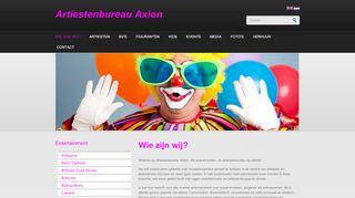 www.artiestenbureau-axion.be
