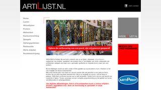 www.artilijst.nl