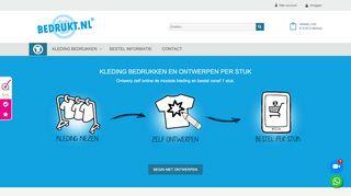 www.bedrukt.nl