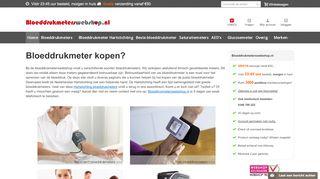 www.bloeddrukmeterswebshop.nl