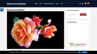 www.bloemenschilderij.nl