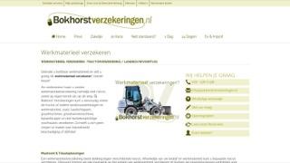 www.bokhorstverzekeringen.nl/werkmaterieel-verzekeren