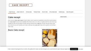 www.cake-recept.nl