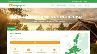 www.campings.nl
