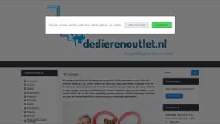 www.dedierenoutlet.nl