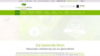 www.degezondebron.nl