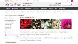 www.deroosbv.com/rouwbloemen/rouwboeket.html