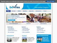www.devriesverzekeringen.nl