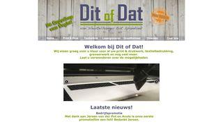 www.ditofdat.nl