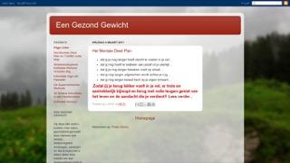 www.een-gezond-gewicht.blogspot.com