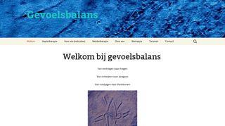 www.gevoelsbalans.com