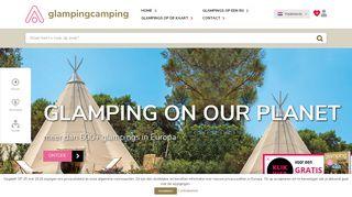 www.glampingcamping.eu
