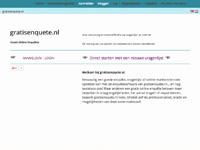www.gratisenquete.nl