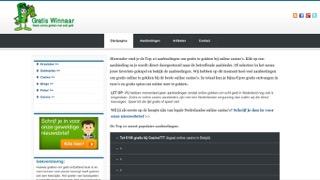 www.gratiswinnaar.nl