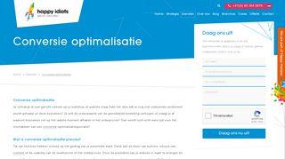 www.happyidiots.nl/diensten/conversie-optimalisatie/