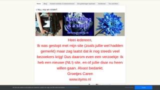 www.itellyoumystory.weebly.com