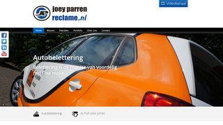 www.joeyparrenreclame.nl
