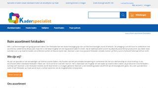 www.kaderspecialist.be/fotokaders