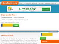 www.kentekencheck.nu