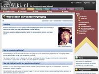 leerwiki.nl/wat_te_doen_bij_voedselvergiftiging