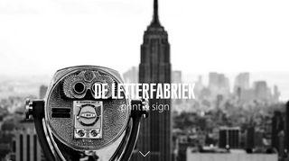 www.letterfabriek.nl