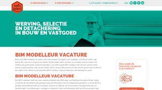 www.meinselect.nl/bim-modelleur-vacature