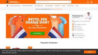 www.nederlandselftalshirtje.nl