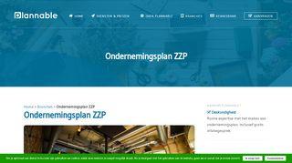 www.plannable.nl/branches/ondernemingsplan-zzp-2/