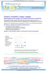 www.polisopzegservice.nl