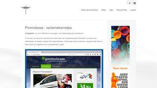www.promolease.nl