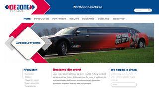 www.reclame-dejong.nl