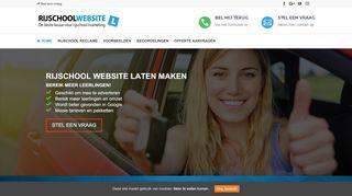 www.rijschoolwebsitelatenmaken.nl