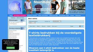 www.shirtkoning.nl
