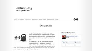 www.snelafvallen-droogtrainen.nl/droog-trainen/