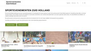 www.sportevenementen-zuid-holland.nl