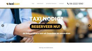 www.taxizaan.nl