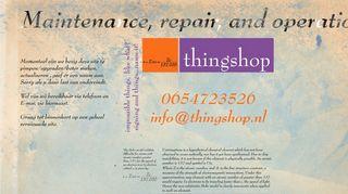 www.thingshop.nl