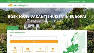 www.vakantiehuisjes.nl
