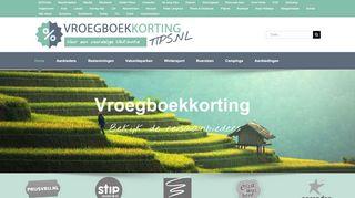 www.vroegboekkortingtips.nl