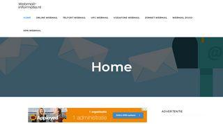 www.webmail-informatie.nl